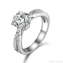 The Best Wedding Rings Designs 2019 Top Quality Design 1 5ct Synthetic Diamond Engagement Ring White Gold Cover Great Quality Excellent Jewelry From Happybeck 126 64 Dhgate Com