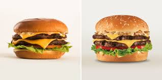 A Tale Of Two Photos Carls Jr And Hardees Classic Double