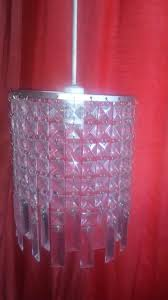 one bulb glass chandelier ceiling light for