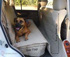 car seat cover for pets taupe