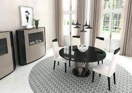 modern round dining table for 6 astonishing contemporary round dining tables modern glass room furniture table