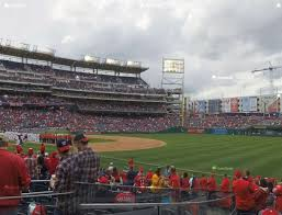 Detailed Nationals Park Seating Chart Specific Seatgeek Washington Nationals Park Seating Chart