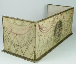 Decorative Shoe Box Antique Georgian Lady's Shoe Box Decorative Display Shelf Storage 22