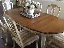 french country dining tables. dining set table 6 splat back chairs leaves country french by ethan allen tables
