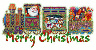 Image result for word merry christmas train template