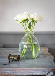 Big Glass Vases Recycled Glass Vase Large Garden Trading