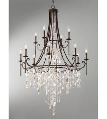 feiss f2661 8 4htbz cascade 12 light 37 inch heritage bronze chandelier ceiling light