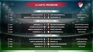 Süper Lig 22-29. hafta programları açıklandı - Ligler Haber Detay Sayfası  TFF