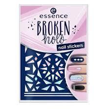 Essence Nálepky Na Nehty Broken Holo 12