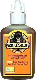 gorilla glue metal to wood gorilla glue plastic to metal for glass original polyurethane formula waterproof