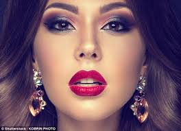 make up helps younger people appear older whilst cosmetics knock years of the appearance