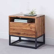 industrial modern furniture. Steel Nightstand Industrial Modern Bedroom Furniture Bombay