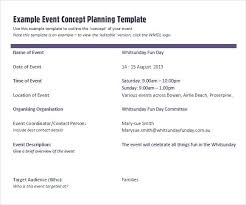 Event Planning Template Free Event Checklist Template Meeting