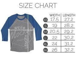 Next Level Raglan Shirt Size Chart Next Level 6051 Size Chart Flat Lay Mockup T Shirt Shirt Size Chart Next Level Size Chart Unisex Raglan Size Chart Mockup