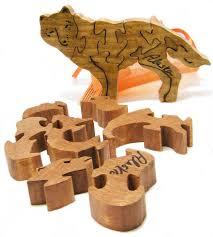 handmade wooden puzzles