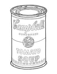 Small Picture Andy Warhol Coloring Pages Miakenasnet