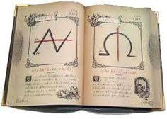 image result for old spell book