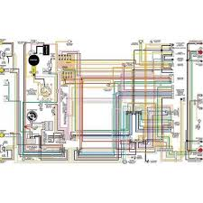 chevy color laminated wiring diagram, 1949 1954 eckler's early 1957 Chevy Ignition Wiring Diagram chevy color laminated wiring diagram, 1949 1954 eckler's early chevy parts