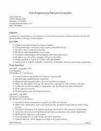 Design Engineer Resume Template Valuable Engineering Resume Format