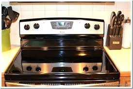 glass top stove home makeover self cleaning electric range review within glass top stove plans flat glass top stove