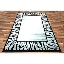 zebra rug red grey zebra rug and cream black white area rugs half moon animal
