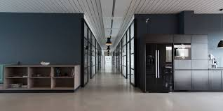 interior of modern office space