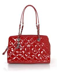 Chanel 2014 Red Patent Leather Quilted Tote Bag rt. $3,900 For ... & Chanel 2014 Red Patent Leather Quilted Tote Bag rt. $3,900 1 Adamdwight.com