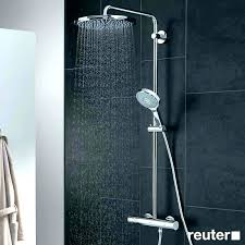 rain shower head grohe heads installation