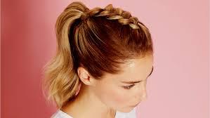 Coiffure Simple Et Rapide Cheveux Long Coupe Des Femme
