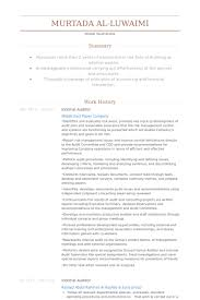 Internal Auditor Resume Objective Internal Auditor Resume Jkhednet 34