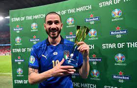 عاجل.. بونوتشي أفضل لاعب في مباراة إيطاليا وإنجلترا بنهائي يورو 2020