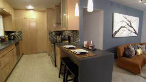 Gallery Kitchen From Galley Kitchen To Open Floor Plan Weekends With Luis Hgtv