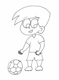 Voetbal Tekeningen Om Te Kleuren Hard Kleurplaat Kleurplaten Voetbal