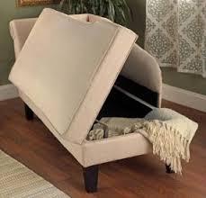 chaise lounge sofa chair flip storage studio loft apartment couch furniture chaise lounge sofa