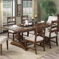 Kitchen Table With Leaf Insert Chambers Bay Wood Rectangular Dining Table In Antique Pine By