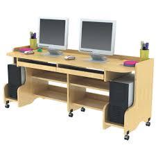 Double Computer Desk