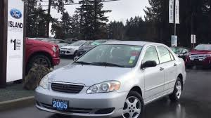 2005 Toyota Corolla CE + CD Review|Island Ford - YouTube
