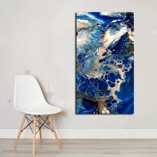 <b>DIY</b>,Full,5d,<b>Diamond</b> Embroidery,<b>Diamond</b> Painting Abstract Blue ...
