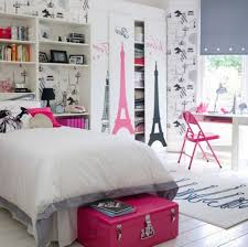 Paris Themed Girls Bedroom Teens Paris Themed Bedroom
