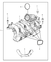 2009 chrysler aspen intake manifold diagram i2216782