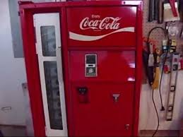 Retro Soda Vending Machine Adorable 48's Vendo Coke Machine YouTube