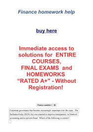 finance homework help by r nelson issuu page 1 finance homework help