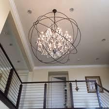 lighting amusing sphere chandelier
