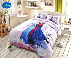 frozen bed set full size frozen bedding set full pink frozen character printed bedding set for