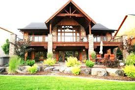 lake house plans with walkout basement hillside house plans with walkout basement ranch style house lake