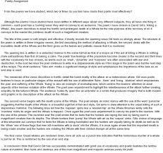 resume cv cover letter essay poetry analysis essay example example essay poem analysis