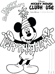Free Mickey Mouse Coloring Pages To Print Coloring Source Kids