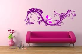 simple wall paintings shining design
