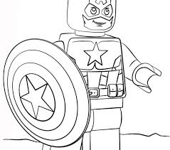 Small Picture Captain America Coloring Pages Printable Coloring Coloring Pages