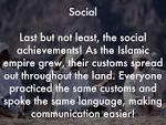 Islamic Golden Age Social Achievements
